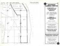 Map Image 014, Milwaukee County 1961